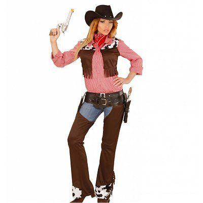 Cowgirl kostuum voor echte cowboys
