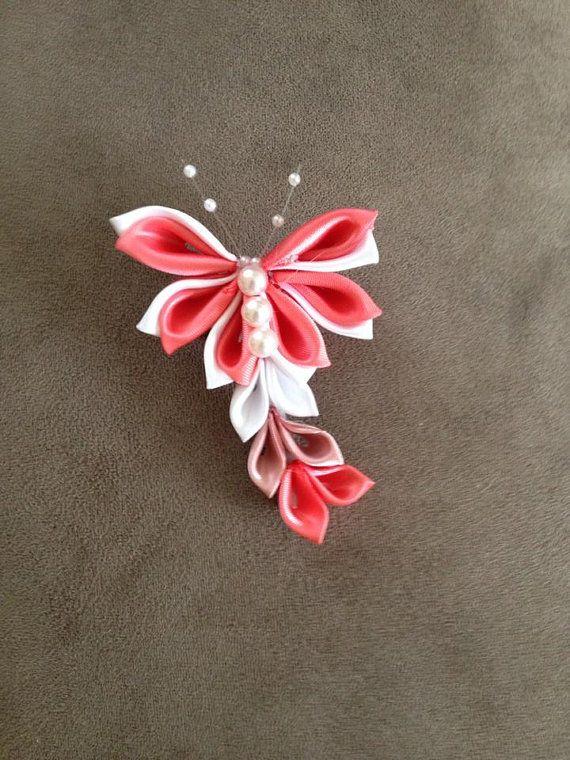 kanzashi - motýl