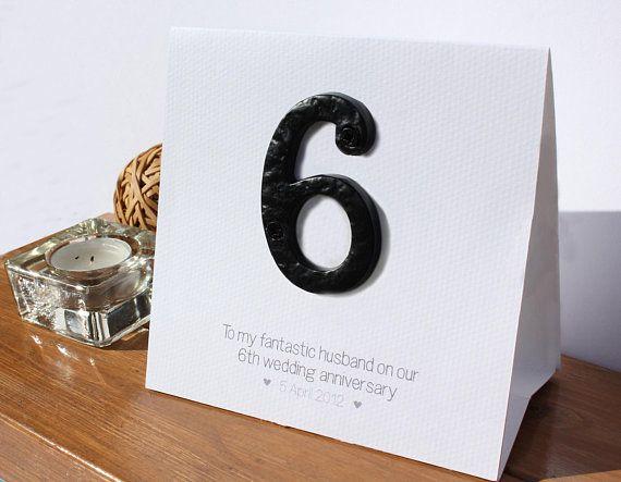 6 Year Anniversary Anniversary Wishes For Husband Wedding Anniversary Greeting Cards 6th Wedding Anniversary