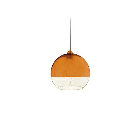 Aneta Belysning Lux Taklampa Stor Koppar/Klar 35Cm U*