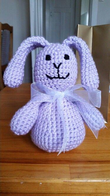 Baby bunny - crochet