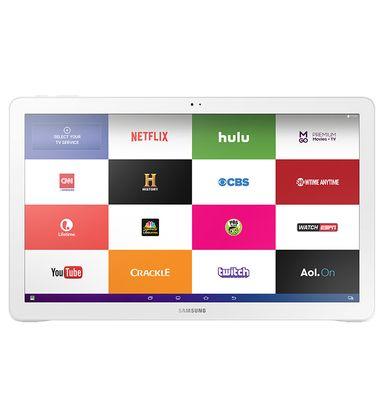 Samsung #Galaxy View: #tablet #Android Esta pantalla increíble es lo suficientemente grande como para usarla de #TV y tan ligera que podrás llevarla a donde quieras.