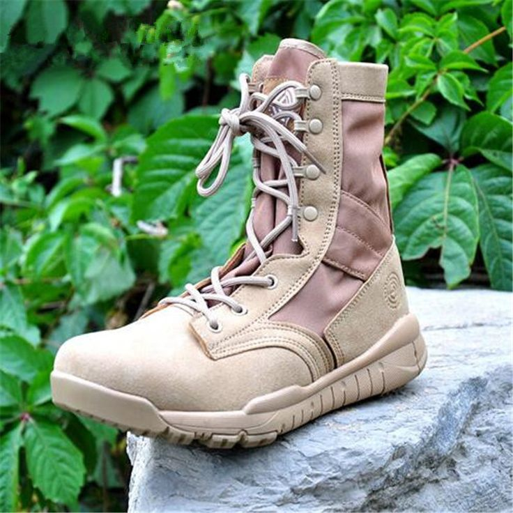 New Ultralight Men Army Boots Military Shoes Combat Tactical Ankle Boots For Men Desert/Jungle Boots Outdoor Shoes Size 36-47