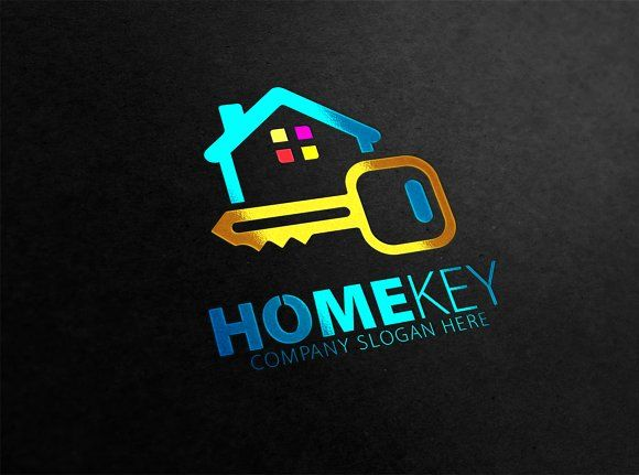 Home Key Logo by eSSeGraphic on @creativemarket