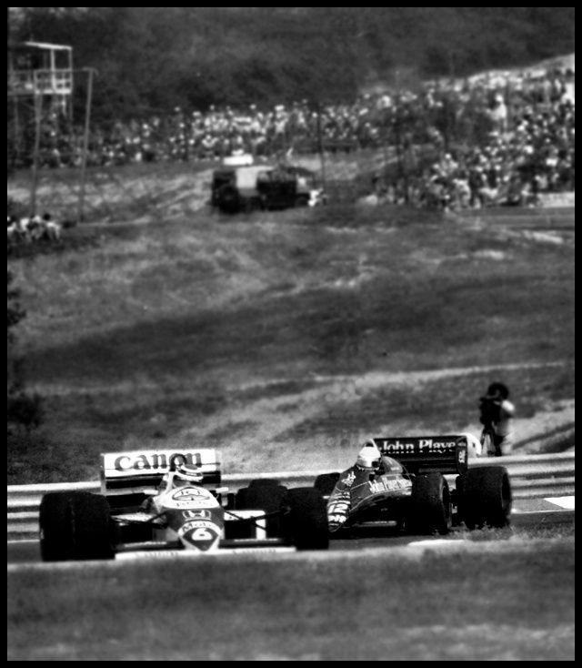 Nelson Piquet & Ayrton Senna Legend!!!