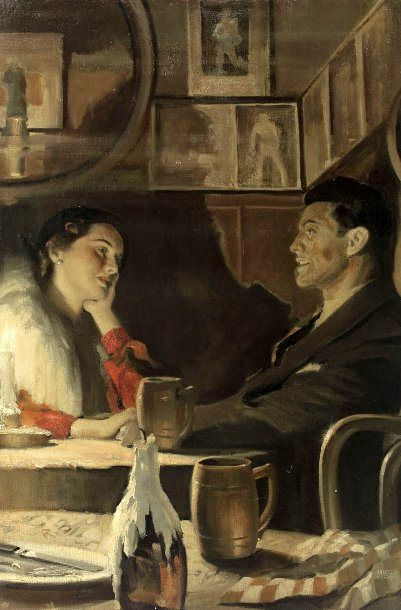 William Andrew Loomis--Table For Two