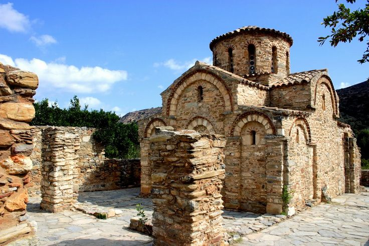 Crete/Fodele/Byzantine church of Panagia