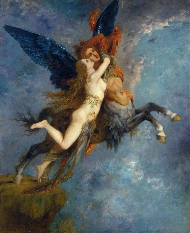 The Chimera, 1867 Gustave Moreau (1826–1898)