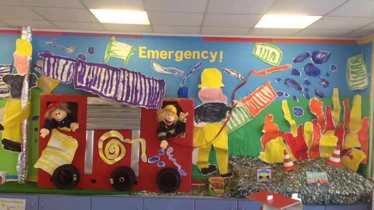 This display is all about the emergency services.