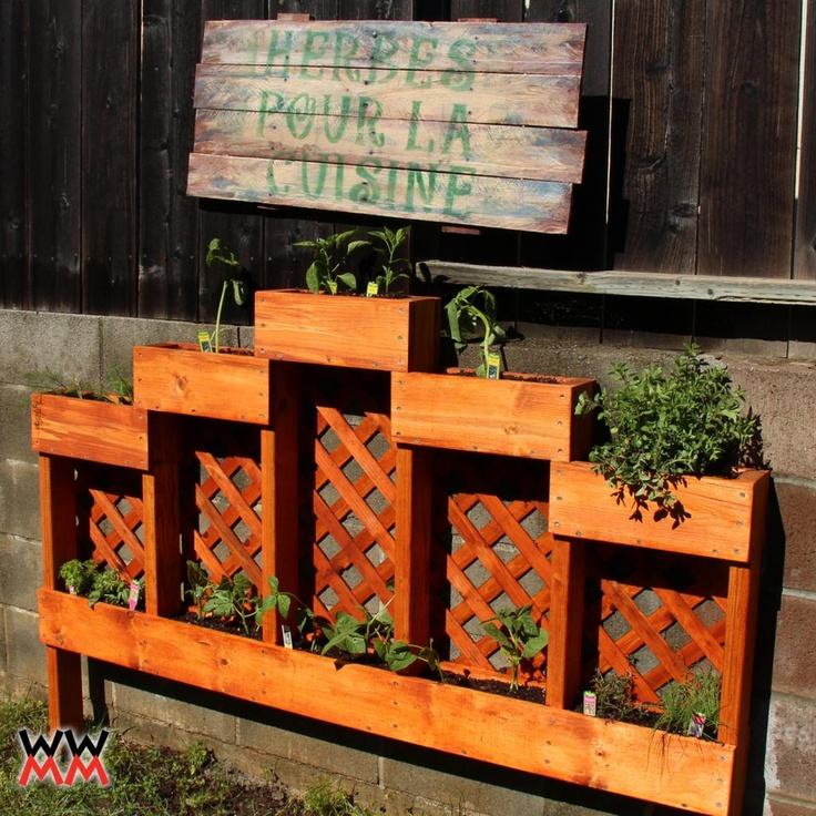 Elegant Woodworking For Mere Mortals: Free Woodworking Videos And Plans. : Make An Herb  Garden Planter