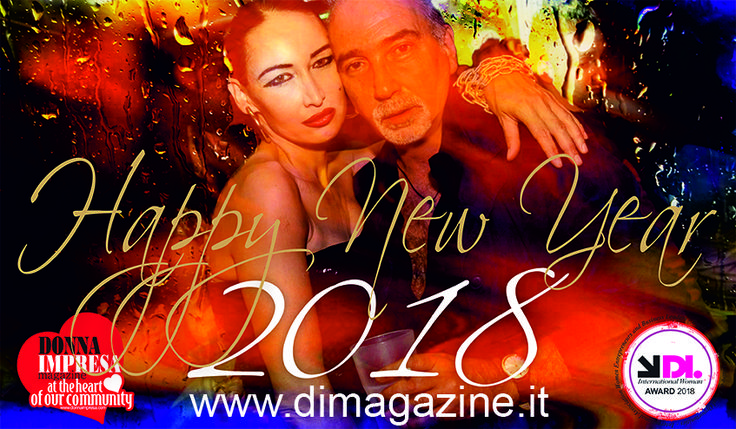 Buon anno nuovo 2018 – Happy new year 2018 by Donna Impresa | DONNA IMPRESA