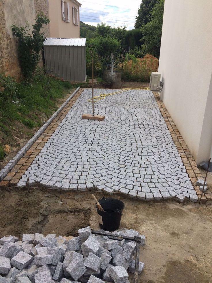 Verlegung Von Granitpflastersteinen Aus Portugal Portugal Verlegung Von Granitpflastersteinen Aus Portugal Garten Pflaster Steinterrassen Landschaftsbau