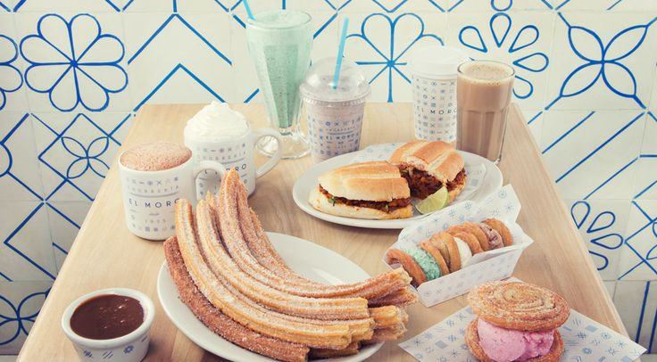 churreria el moro  CHURRO ice cream sandwhiches