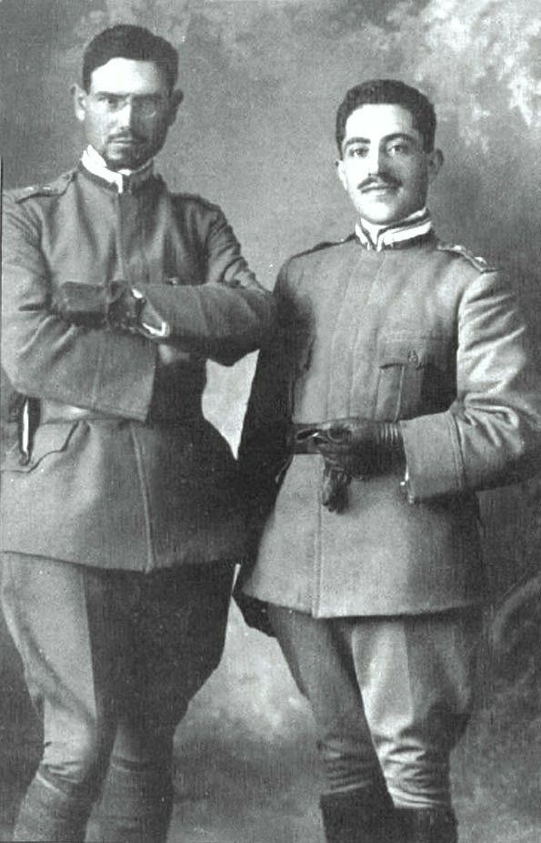 EMILIO LUSSU E GIUSEPPE TOMMASI.