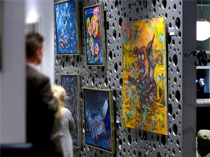 Exhibition in Copenhagen #Art by #wichers_art  Christian Wichers Visit Website for more paintings : www.christianwichers.com