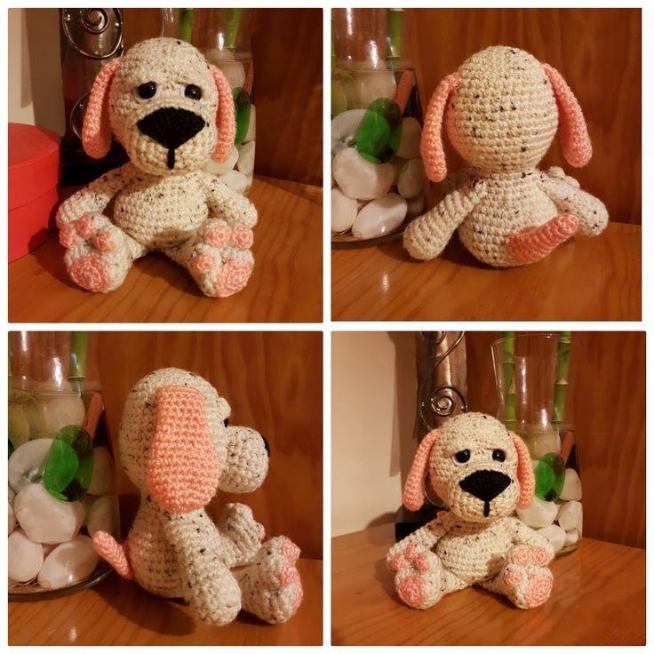 Cão; Pupy; Amigurumi