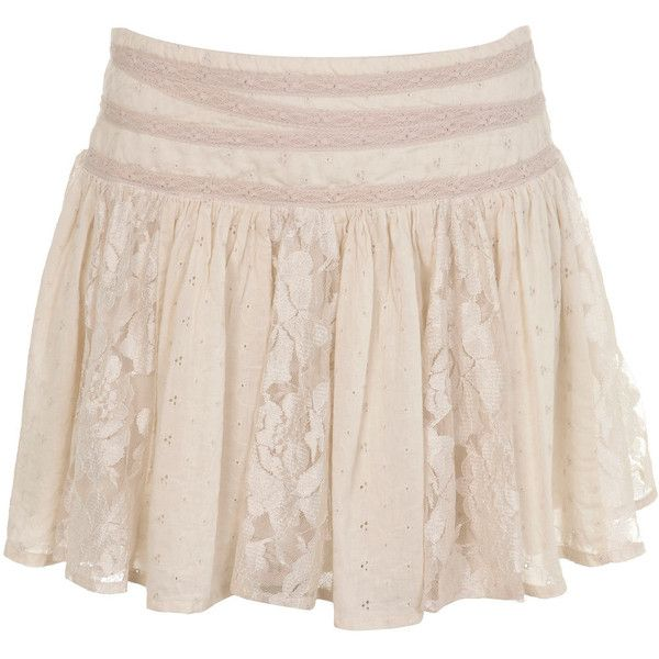 Cream Lace Skirt ($22) ❤ liked on Polyvore featuring skirts, bottoms, saias, faldas, women, knee length lace skirt, miss selfridge, cream skirt, pink lace skirt and lace skirt