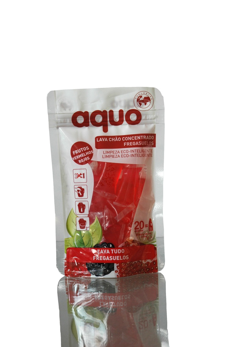 Aquo- New product. Packaging