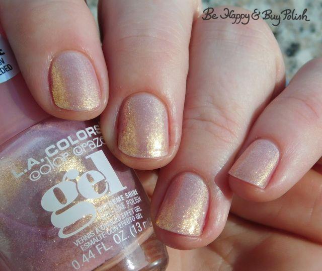 L A Colors Color Craze Gel Nail Polishes Hocus Pocus Princess Vibes Ravishing Swatches Nail Polish Gel Nail Tips Gel Nails