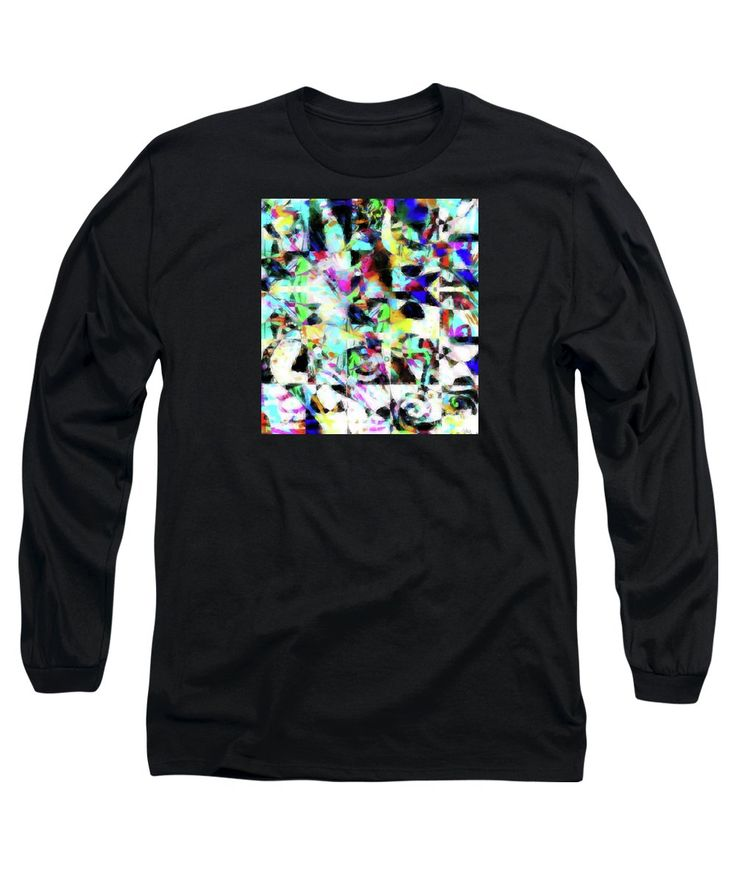 Original Artwork Long Sleeve T-Shirt featuring the painting Celibrate by Expressionistart studio Priscilla Batzell