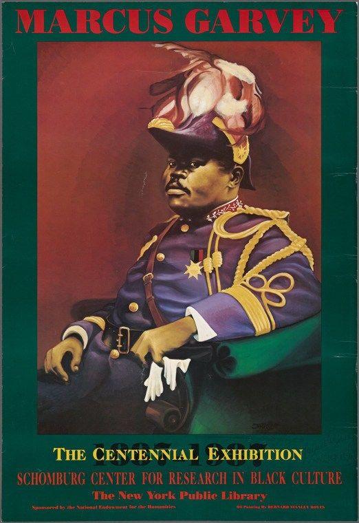 AFRICAN AMERICAN ART PRINT Marcus Garvey Bernard Stanley Hoyes