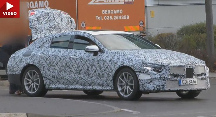 2018 Mercedes-Benz CLS Prototype Caught Yet Again On Video