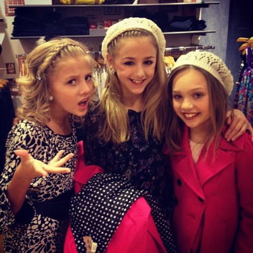 Chloe Paige and Maddie!!