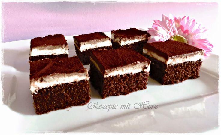"""Rezepte mit Herz ♥: Vorschau """"Nutella-Schnitten"""""""