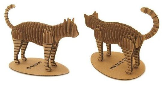 d-torso creates incredible 3-D forms -- you punch out the pieces and assemble!  So cute! $24.50 at Amazon.
