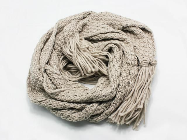 Rope Knit Scarf [Grey] || Available now for AUD $29.95 at www.jessica-t.com.au