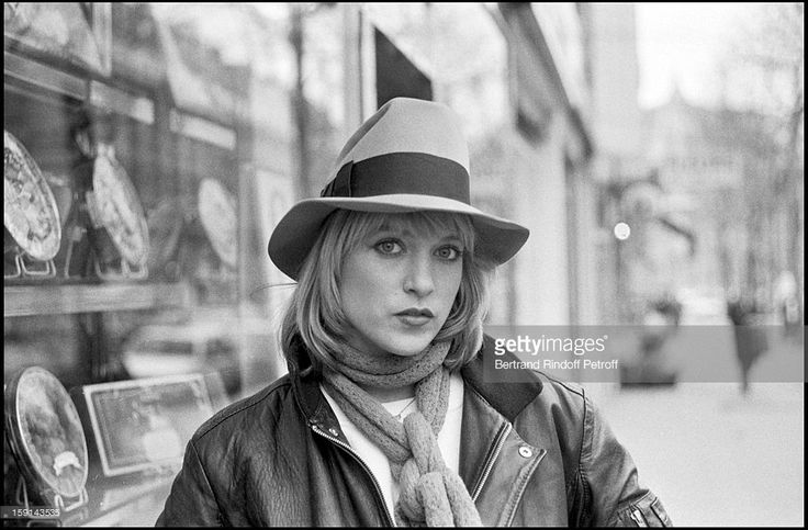 Fedora.  Meeting with singer Joelle Mogensen from pop group 'Il Etait Une Fois' (Once Upon A Time) in 1980.