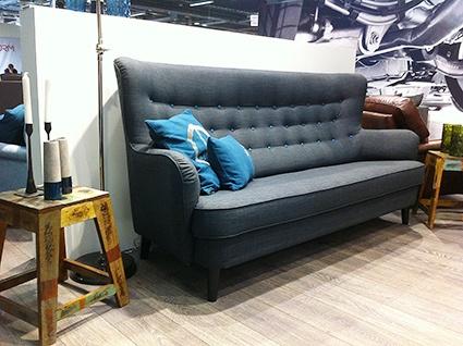 Retrotrenden håller i sig. Här en soffa som känns mycket 40-tal från Litsofa, Litauen.