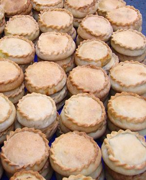 """The most typical pie in Mallorca is the one called """"panades"""""""