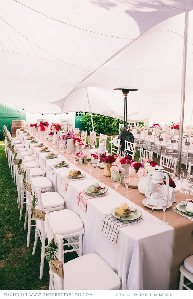 Wedding table | Photo: Wrensch Lombard