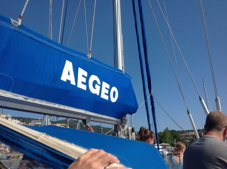 Aegeo yacht trip in Skiathos best day out.