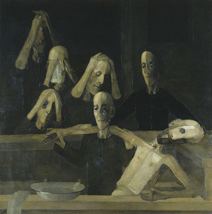 Kiejstut Bereźnicki - Opłakiwanie I 1985