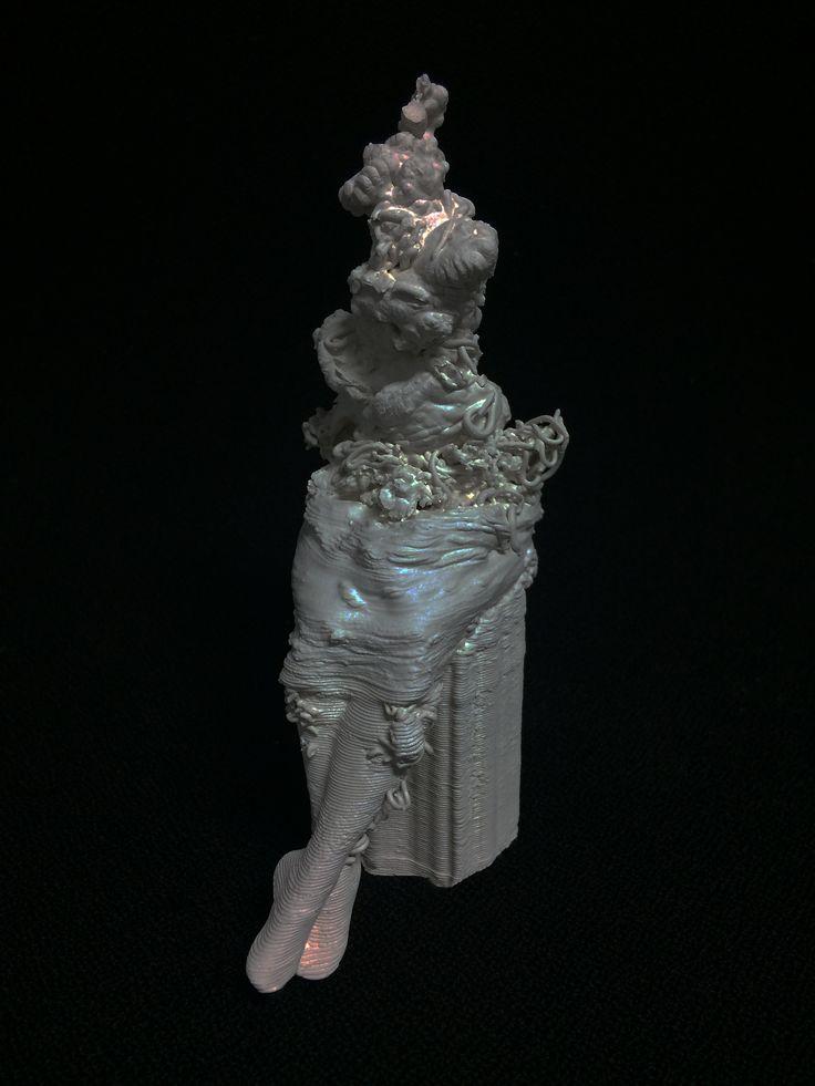 Lesia Vasylchenko 3Dsculpture Galleri Seiduken, Oslo