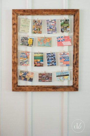 Dwell Beautiful shows you how to make a clothespin photo display in 3 easy steps! The end result is perfect for weddings and holidays!