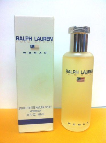 Polo Sport BY Ralph Lauren Women Perfume EDT Spray 3 4 OZ 100 Ml