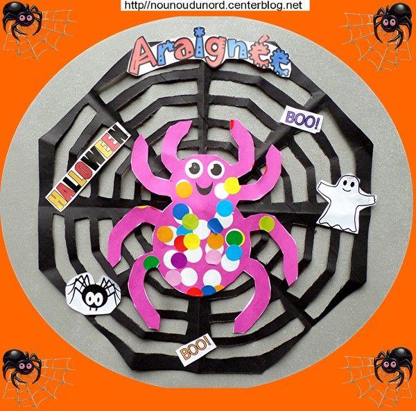 Tuto activités manuelles Halloween chez assistante maternelle blog nounoudunord