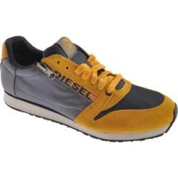 Men's Diesel Great Era Slocker Total Blue/Golden Yellow/Castlerock. #menshoes #man #fashion #dieselshoes #sneakers #mensfashion#yellowsneakers #athleticshoes