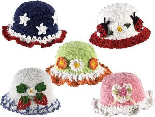 T-Shirt Dress Hat Set Crochet Pattern