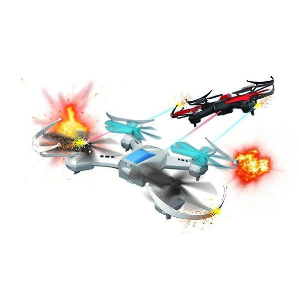 Drón csata szett 2 drónnal infra lövéssel Drónok - Quadrocopterek
