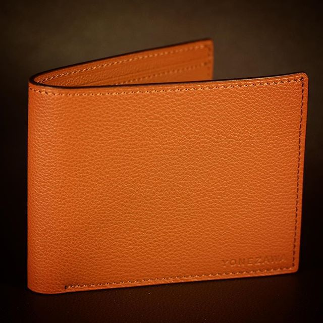 Bi-fold wallet.  Premium German Calf skin. $370+shipping. #bifold #wallet #german #calf #leather #handmade #hypebeast #halfwallet #premium #pdx #oregon #japanese #yonezawaleather