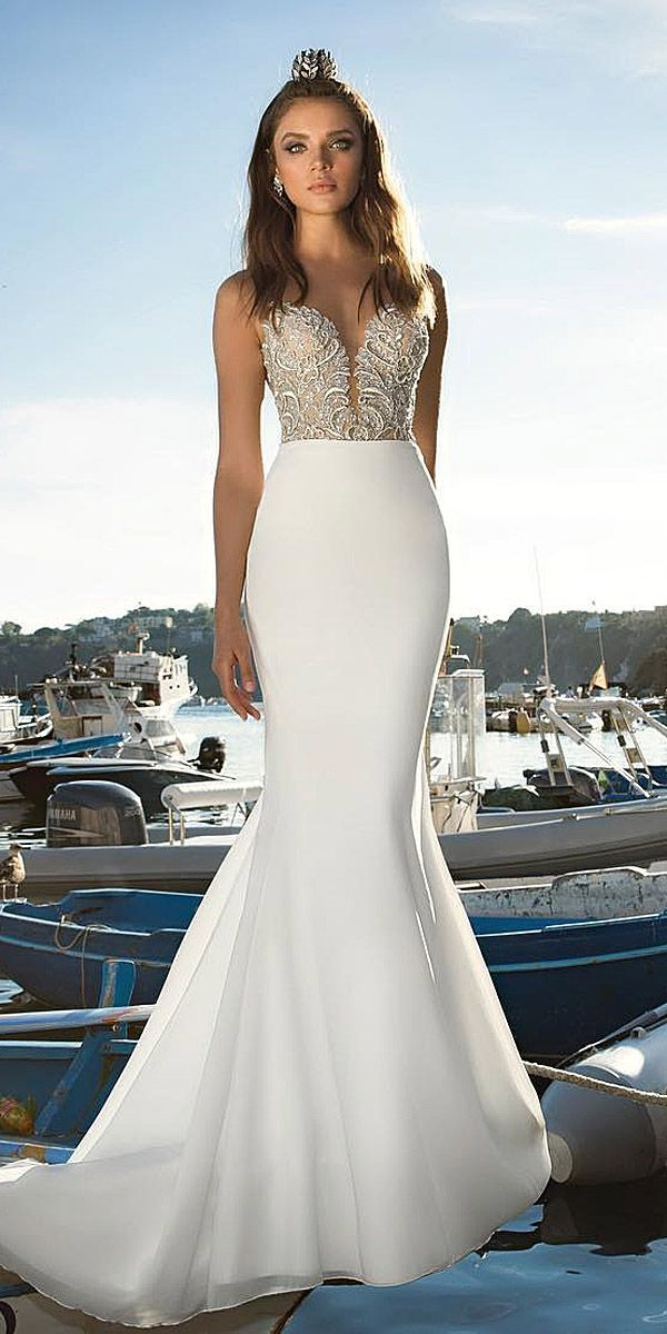 2017 Collections From Top Wedding Dress Designers ❤ See more: http://www.weddingforward.com/wedding-dress-designers/ #wedding #dresses