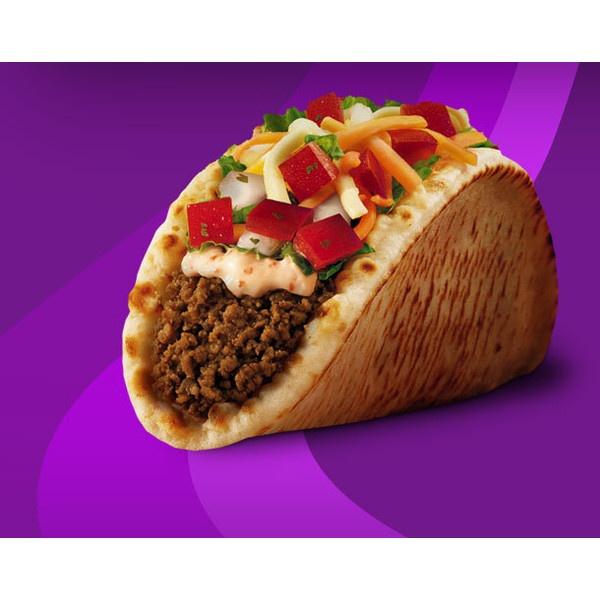 Taco Bell® | Gordita Baja® ❤ liked on Polyvore