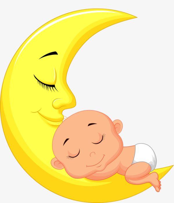 Png Da Lua E O Bebe Dos Desenhos Animados Lua Desenho Desenhos