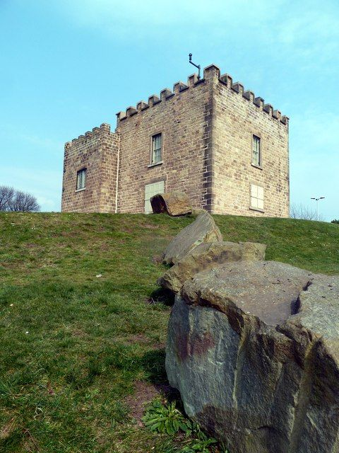 Boston Castle by Graham Hogg, via Geograph