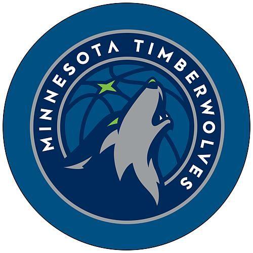 Trademark Global, Inc. Minnesota Timberwolves Padded Swivel Bar Stool with Back
