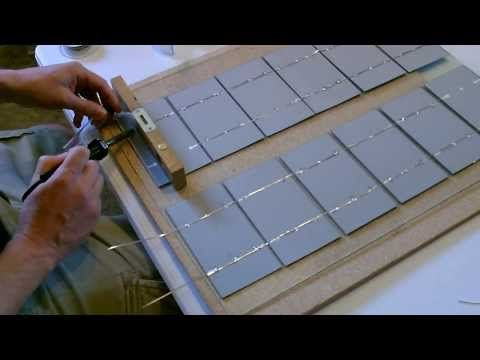 How to make a Solar Panel - Wiring, Soldering, and Cell Layout - Explained Simply! - http://www.newvistaenergy.com/solar-energy/solar-panels/how-to-make-a-solar-panel-wiring-soldering-and-cell-layout-explained-simply/